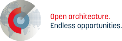 Open architecture logo